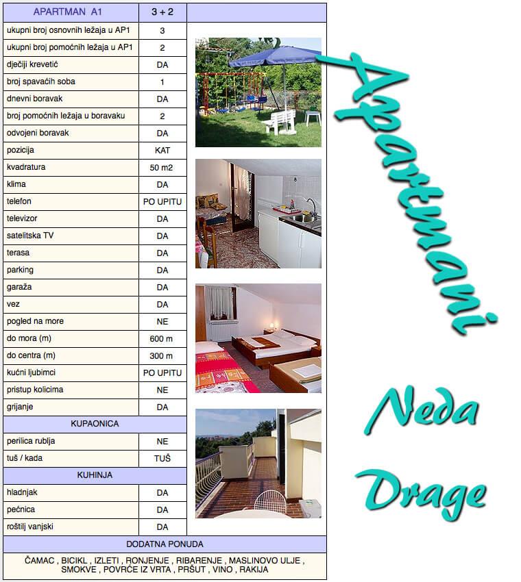 Apartmani-Neda-Drage-apartman-A1