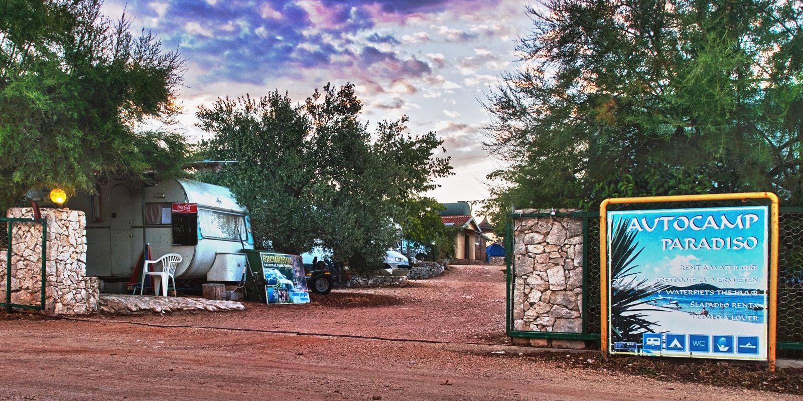 Ulaz u kamp 1