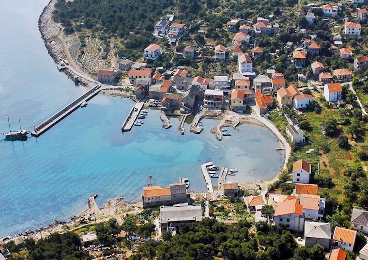 Insel Vrgada - Panorama