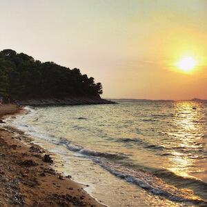 Insel Vrgada - hervorgehoben