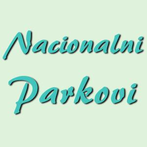 Nacionalni parkovi - najavna