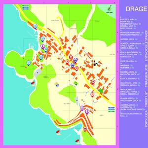 Plan mjesta Drage najavna