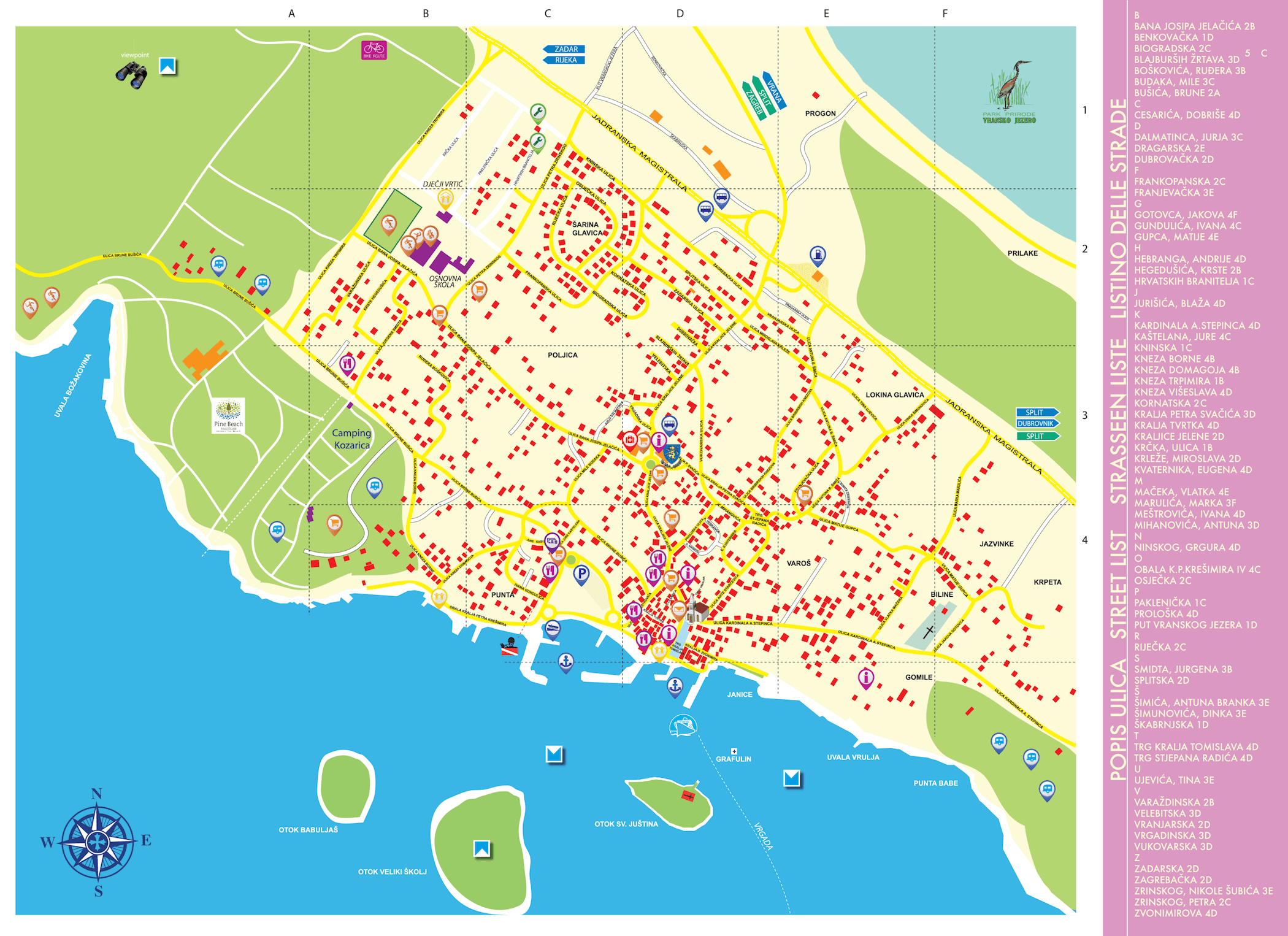 The plan places Pakostane